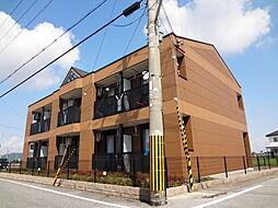 滋賀県犬上郡豊郷町大字三ツ池の賃貸アパートの外観