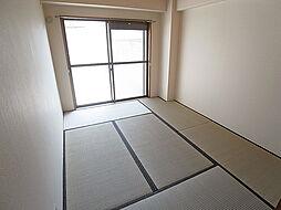ハイツ菊水の和室のお部屋も明るいです