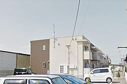 福島県郡山市田村町金屋字新家の賃貸アパートの外観