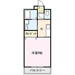 セピアコート[4階]の間取り
