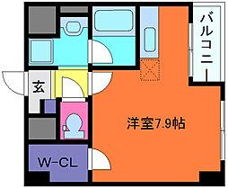 カノン甲南山手[5階]の間取り