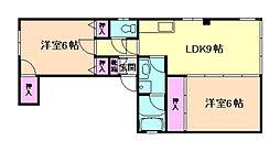 栄伸ビル[3階]の間取り