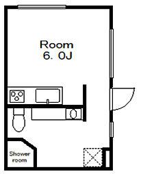 高石神アパートメント[-1階]の間取り