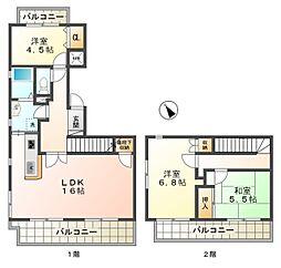 愛知県豊田市水源町2丁目の賃貸マンションの間取り