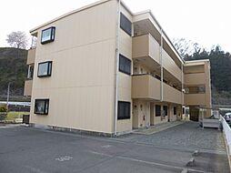 長野県伊那市西春近の賃貸マンションの外観