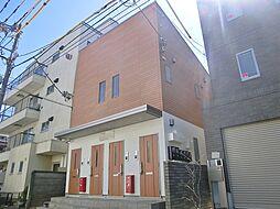 東京都葛飾区新小岩2丁目の賃貸アパートの外観