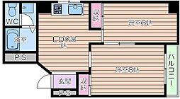 ラパンジール日本橋[11階]の間取り