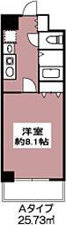 ドミール砧[3階]の間取り
