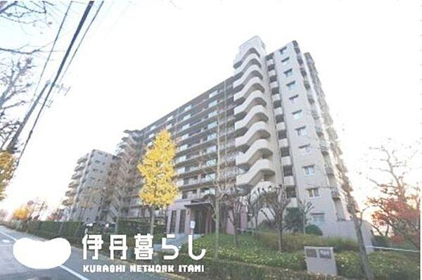 兵庫県伊丹市西野7丁目の賃貸マンションの外観