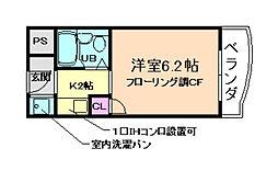 マノワールIII番館[2階]の間取り