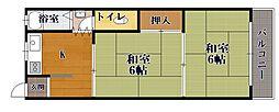 [一戸建] 滋賀県長浜市四ツ塚町 の賃貸【/】の間取り