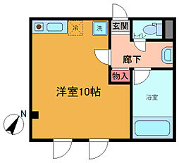 シンエイ第7船橋マンション[203号室]の間取り