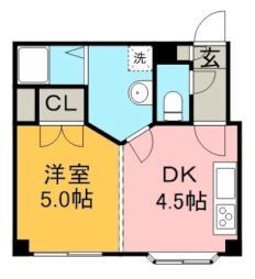 北18条駅 3.7万円