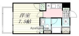 エルスタンザ広瀬通RESIDENCE 9階1Kの間取り