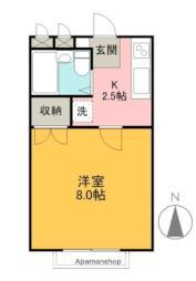 群馬総社駅 1.8万円