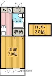 六地蔵駅 3.7万円