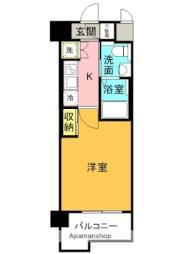 JR大阪環状線 京橋駅 徒歩5分の賃貸マンション 3階1Kの間取り