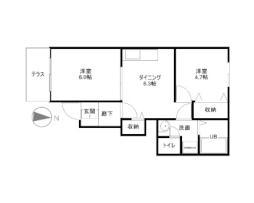 大神駅 3.8万円