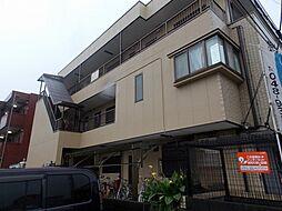 埼玉県草加市中根2丁目の賃貸マンションの外観