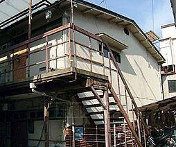 京都府京都市東山区福稲柿本町の賃貸アパートの外観