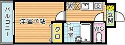 パームコート[3階]の間取り