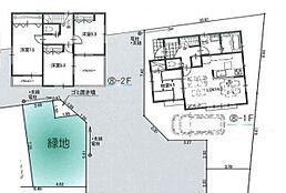8区間取り参考プラン、土地建物価格5880万円