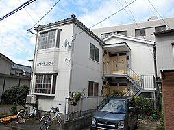 新潟県新潟市中央区南万代町の賃貸アパートの外観