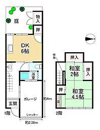東福寺駅 800万円