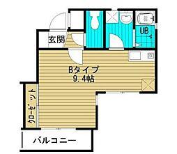 キネテック[2階]の間取り