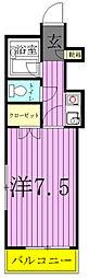アムールISHIZUKA[3階]の間取り