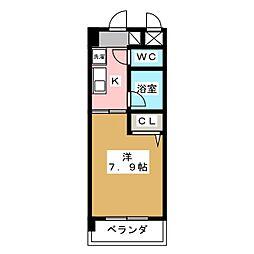 クリエイティブ一宮[4階]の間取り