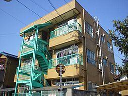 埼玉県川口市江戸袋1丁目の賃貸マンションの外観