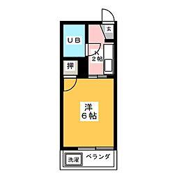 フォーブル神山[1階]の間取り