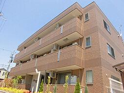 大阪府堺市堺区中三国ヶ丘町7丁の賃貸アパートの外観