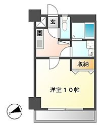 ZUISEI BLD(ズイセイビル)[3階]の間取り