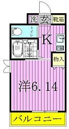 ハイポイント竹ノ塚[7階]の間取り