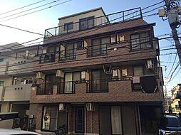 神奈川県川崎市中原区市ノ坪の賃貸マンションの外観