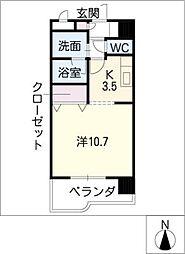 ESPERANZA・M[2階]の間取り