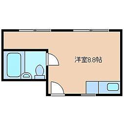 三重県四日市市大字馳出の賃貸マンションの間取り