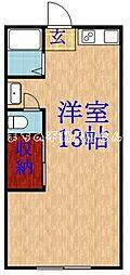 おぐらマンション[203号室]の間取り