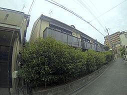 兵庫県川西市南花屋敷4丁目の賃貸マンションの外観