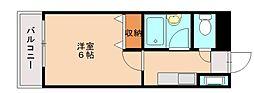 プリオールⅤ[3階]の間取り