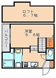 フォラートル[2階]の間取り