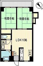 田中ビル[5階]の間取り