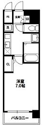 SDグランツ新大阪[8階]の間取り