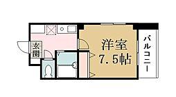 プラザKei−1[206号室]の間取り