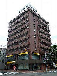 北海道札幌市中央区南五条西8丁目の賃貸マンションの外観