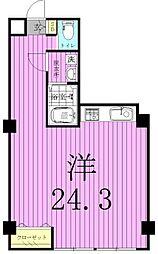 町山ビル[4階]の間取り