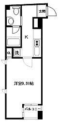 大阪府大阪市中央区本町4丁目の賃貸マンションの間取り