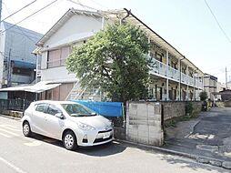福田コーポ[1階]の外観